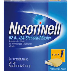 NICOTINELL 21 mg/24-Stunden-Pflaster 52,5mg 7 St.