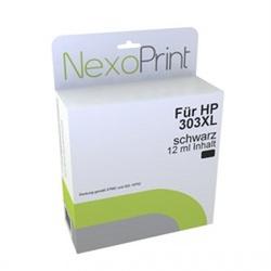 NexoPrint Druckerpatrone für HP 303XL schwarz NexoPrint - NX-T6N04AE