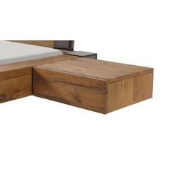 Hängender Nachttisch aus Wildeiche natur -  Liro