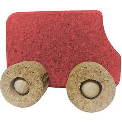 Spielzeugauto Kork Bus, rot