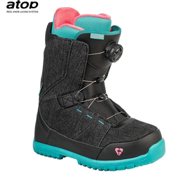 Schuhe GRAVITY - Micra Atop Black-Mint (BLACK-MINT) Größe: 34
