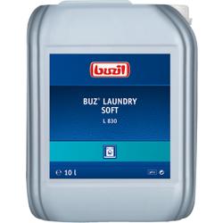 Buzil BUZ® L 830 Laundry Soft Weichspüler, Zum Weichspülen aller geeigneter Textilien außer für Funktionskleidung, 10 Liter - Kanister