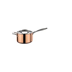 Spring Kasserolle Stielkasserolle hoch mit Gegengriff CULINOX, Edelstahl, Kupfer, (1-tlg)