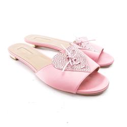 Aquazzura Damen Sandalen rosa, Größe 39, 4919152