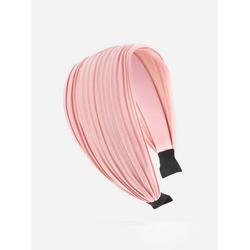 axy Haarreif Breiter Haarreif Wunderschön, Damen Breiter Haarreif Haarband Haarreifen rosa