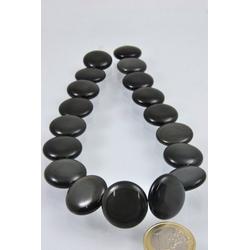 Adelia´s Kette ohne Anhänger Regenbogen-Obsidian Scheiben Steinstrang