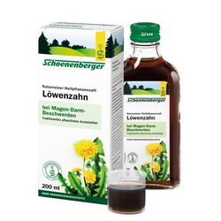 LÖWENZAHN SAFT Schoenenberger 200 ml