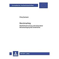 Benchmarking. Philip Bierbach  - Buch
