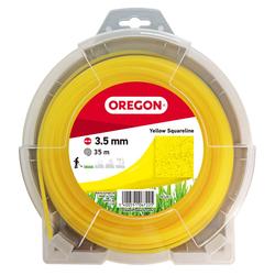 OREGON - quadratischer Faden in gelb 3,5mm x 35m