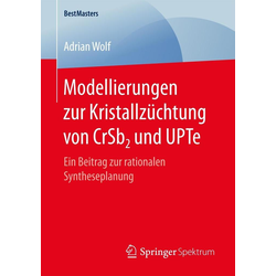 Modellierungen zur Kristallzüchtung von CrSb2 und UPTe: eBook von Adrian Wolf