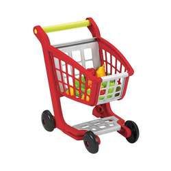 Ecoiffier Spiel-Einkaufswagen Einkaufswagen, gefüllt