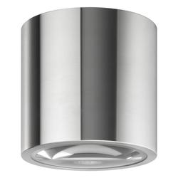 click-licht Außen-Wandleuchte Deckenleuchte A-282554 aus Edelstahl und Lupenglas, Aussenlampe, Aussenwandleuchte, Outdoor-Leuchte