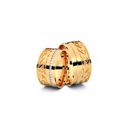 Trauringe Memmingen 750er Rosgold - 5504