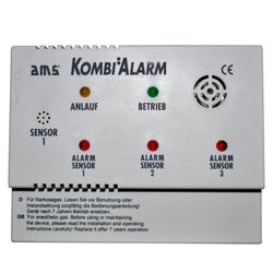 Gas- und Narkosegaswarngerät AMS Kombi Alarm