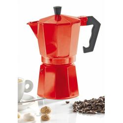 Krüger Espressokocher eckig, hochwertiges Aluminium
