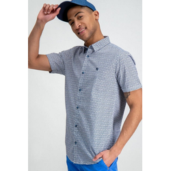 Garcia Hemd mit ausgefallenem Muster weiß L