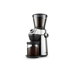 Klarstein Soft Brew Zubereiter Triest Kaffeemühle Kegelmahlwerk 150W 300g 15 Mahlgrade Edelstahl, 0l Kaffeekanne