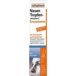 NASENTROPFEN-ratiopharm Erwachs.Konservier.frei 10 ml