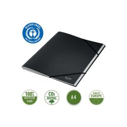 LEITZ Fächermappe Recycle, 100% recycelbar, 12 Fächer mit Taben und Inhaltsverzeichnis