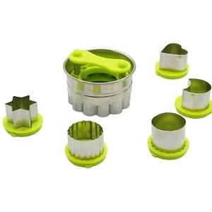 Faneli 6 Stück Edelstahl Keksausstecher, Ausstechformen, Keksausstecher/Ausstecher Linzer, Ausstechformen für Weihnachten, Ausstecher für Plätzchen,