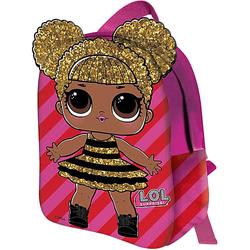 Kinderrucksack 2D L.O.L. QUEEN BEE pink