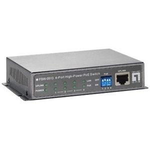 LevelOne 5-Port-Fast Ethernet-PoE-Switch  4 PoE-Ausgängen  120W  Fast Ethernet (10/100)  Vollduplex  Power over Ethernet (PoE)