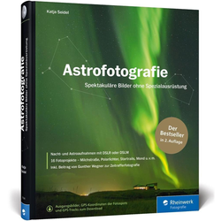 Astrofotografie als Buch von Katja Seidel