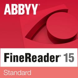 ABBYY FineReader 15 Standard, 1 Użytkownik, WIN, pełna wersja, Pobierz