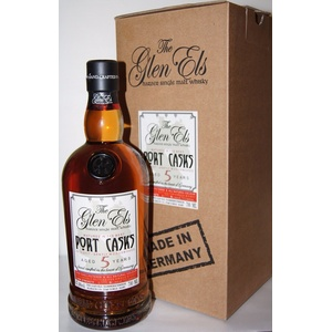 Glen Els 5y Port Cask 47,4% Gently Woodsmoked Exclusively bottled for Kirsch 0.7
