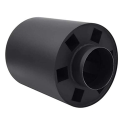 Abgaswärmetauscher 180 mm - Länge 33 cm