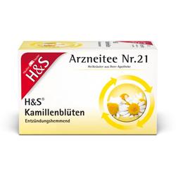 H&S Kamillentee Filterbeutel 20X1.5 g
