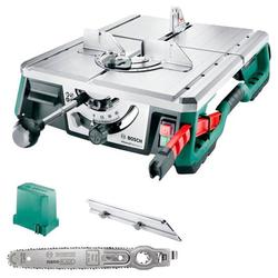 BOSCH Tischkreissäge AdvancedTableCut 52, Schnitttiefe 52 mm, NanoBlade-Sägeblatt grün