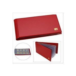 Münzalbum Pocket, Farbe rot