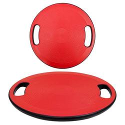 Balance Board 40cm Therapiekreisel Physiotherapie Gleichgewicht Wackelbrett Rot
