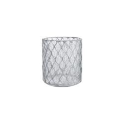 BUTLERS Teelichthalter SHIMMER&SHINE Teelichthalter H 15cm