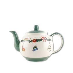 Mila Teekanne Mila Keramik-Teekanne, Weihnachtszauber, ca. 1,2, 1,2 l