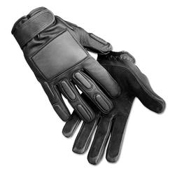 Mil-Tec Security Einsatz Handschuhe gepolstert schwarz, Größe S/7