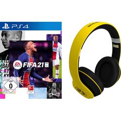 FIFA 21 BVB Set gelb PlayStation 4, inkl. BVB Headset gelb