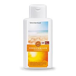 Jojoba-Sonnenschutzmilch LSF 10