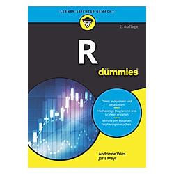 R für Dummies. Andrie De Vries  Joris Meys  - Buch