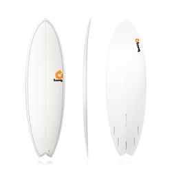 Torq Epoxy TET Fish Pinlines Surfboard Wellenreiter, Größe: 6'6''