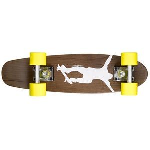 Ridge Maple Skateboard/Mini Cruiser, Dark Dye NR1, Gelb, 56 cm, MPB-22-NR1-YELLOW