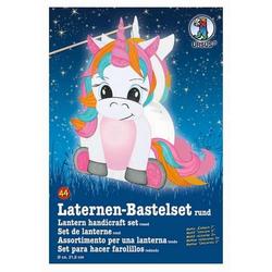 Laternen-Bastelset 44 Einhorn 2