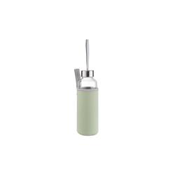 BUTLERS Trinkflasche SMOOTHIE Trinkflasche mit Tasche 0,5 l gr�n