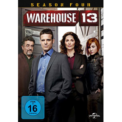 Warehouse 13 - Season 4  [5 DVDs]
