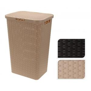 Wäschesammler GEFLECHT Kunststoff bunt JELENIAPLA 8500 (BHT 42x62x33 cm) Jelenia Plast Sp.z.o.o.