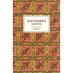 September - Buch