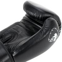 Super Pro Boxhandschuhe schwarz 12