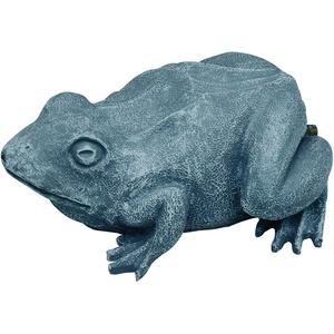 OASE 36774 Wasserspeier Frosch | Teichfigur | Dekoration | Wasserstrahl | Sauerstoff |