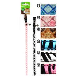 Katzenhalsband in tollen Designs - Halsband für Katzen - 30 cm